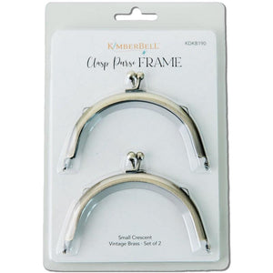 Clasp Purse Frame - Small Crescent