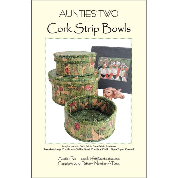 Cork Strip Bowls