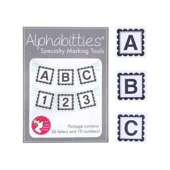 Grey Alphabitties Specialty Marking Tools | It's Sew Emma #ISE-725