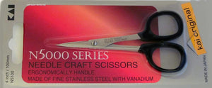 KAI 4-INCH NEEDLE CRAFT SCISSORS