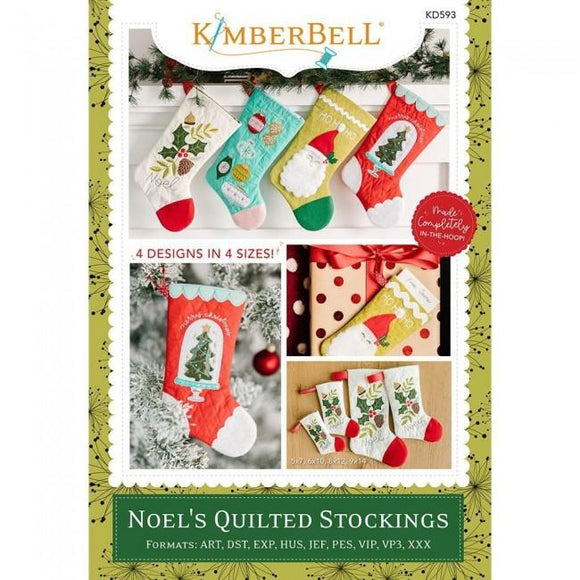 Kimberbell Noel's Quilted Stockings