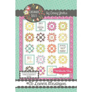 Kit- Lemon Meringue Quilt Kit