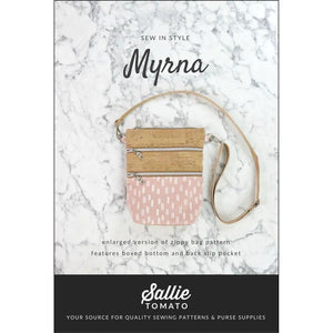 Myrna Enlarged Zippy Crossbody Bag