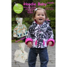 Hoodie Baby Pattern | Reversible Jack with Option Hood & Pockets (OAD90)