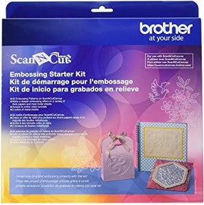 Scan N Cut Embossing Kit - In-Store Pick Up only