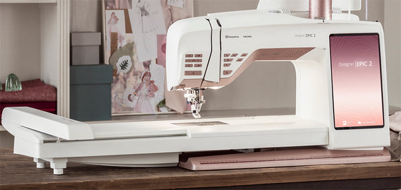 Husqvarna Viking Epic 2 - Sewing, Quilting, & Embroidery
