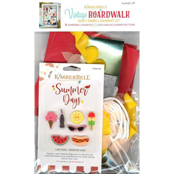 Kimberbell Vintage Boardwalk Embellisment Kit