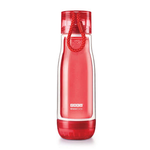 Zoku Glass Core Bottle 475ML Red