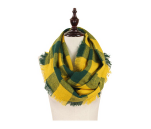 Green/Gold Scarf