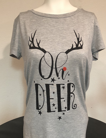 Oh Deer Holiday Tee