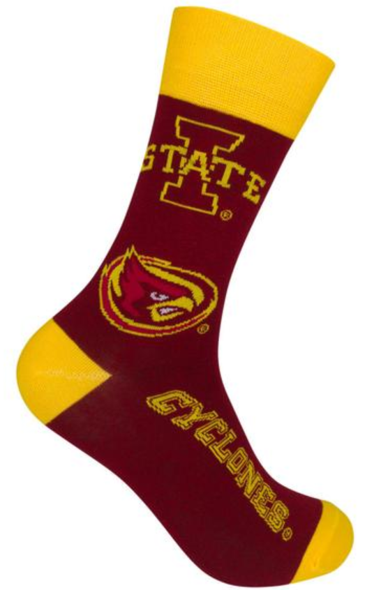 Iowa State Socks