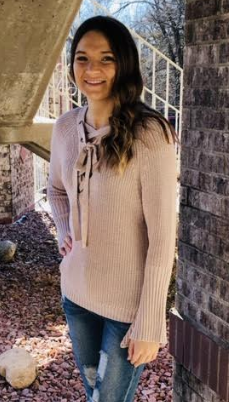 Mauve V-Neck Sweater