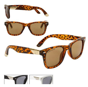 White Sunglasses California Classics