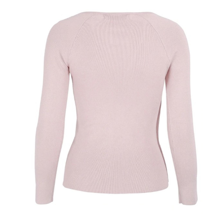 Pink Femme pullover knitted sweater