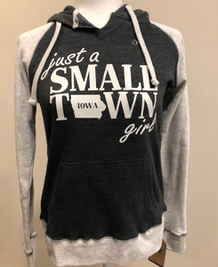 SMALL TOWN IOWA GIRL SWEATSHIRT