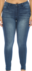 Skinny Dark Denim Jeans