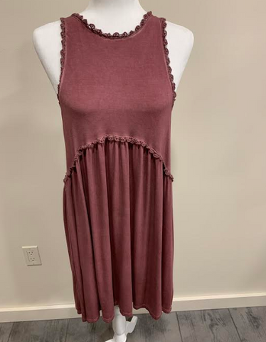 Rose Sleeveless Dress