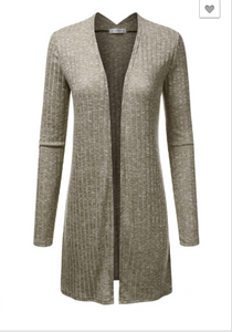 Coco Long Knitted Cardigan