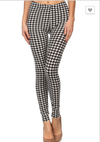 Checker Printed Legging