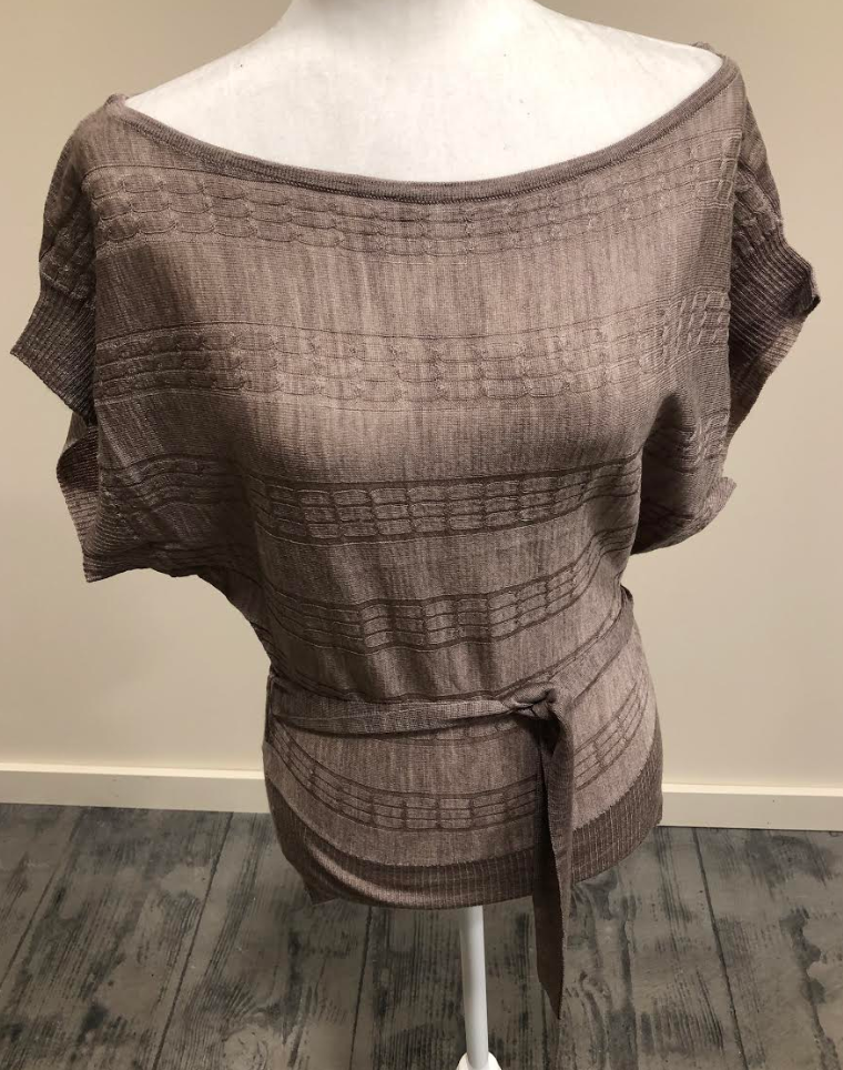 Mocha Light Weight Knit Top