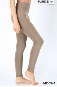 Fleece Mocha Leggings