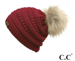 CC Red Hat with Pom