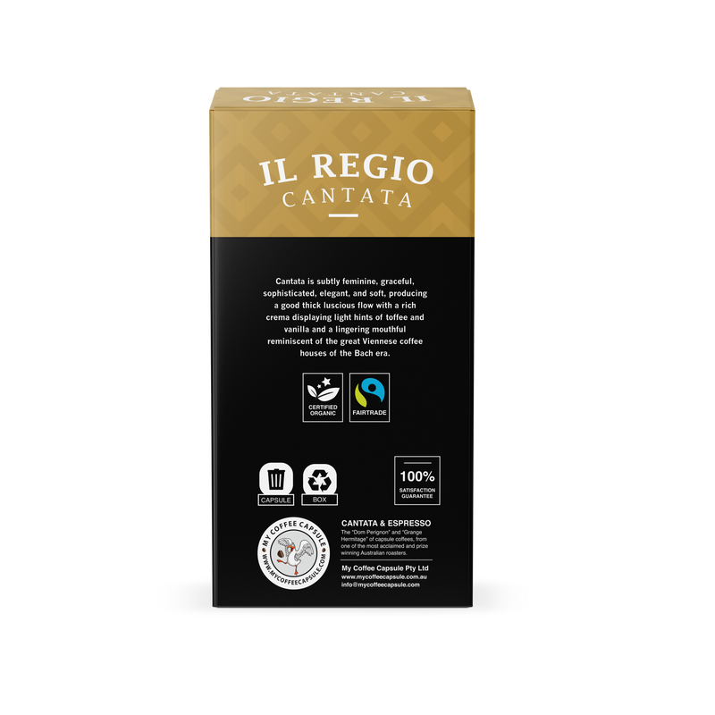 Il Regio Cantata- Certified Fair Trade Organic