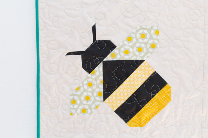 Week #8 of the Firefly Quilt Along // Choosing Quilt Binding