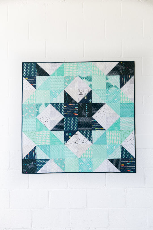 Solitude Star Quilt