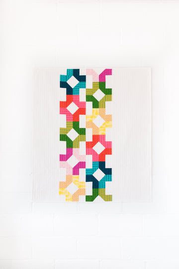Charleston Square Quilt Pattern [PDF]