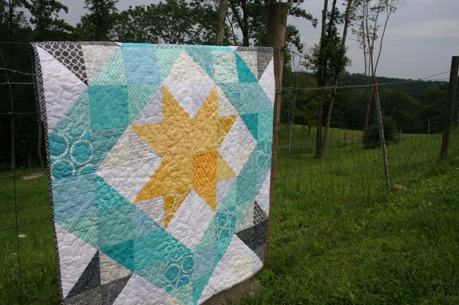 Solitude Star PDF Quilt Pattern