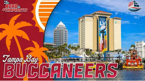 NFL EXPERIENCE SUPER BOWL LV TAMPA BAY BUCCANEERS THINGS TO DO TAMPA FLORIDA SMALL BUSINESS TAMPA SBLV SUPERBOWL LV TOM BRADY GO BUCS