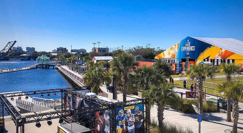 CURTIS HIXON PARK NFL EXPERIENCE SUPER BOWL LV TAMPA BAY BUCCANEERS THINGS TO DO TAMPA FLORIDA SMALL BUSINESS TAMPA SBLV SUPERBOWL LV TOM BRADY GO BUCS