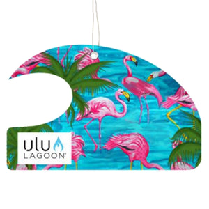 Ulu Lagoon Miami Mini Wave Air Freshener (Coconut Surf Wax Scent)