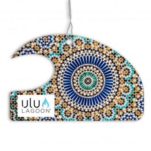Ulu Lagoon Marrakesh Mini Wave Air Freshener (Coconut Surf Wax Scent)