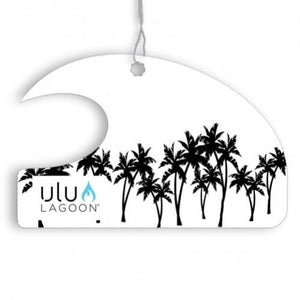 Ulu Lagoon Black Palms Mini Wave Air Freshener (Coconut Surf Wax Scent)