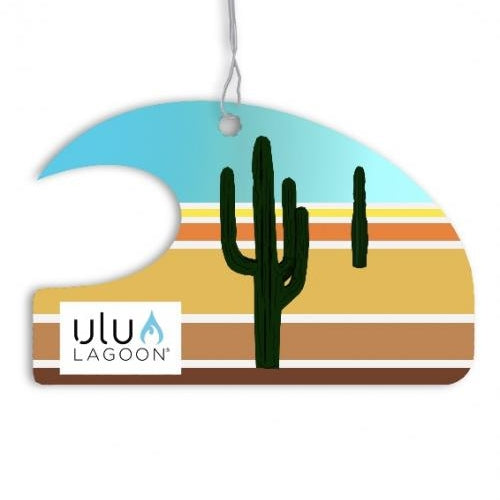 Ulu Lagoon Desert Mini Wave Air Freshener (Coconut Surf Wax Scent)