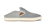 Olukai Pehuea Women's Slip On Sneakers - Pale Grey