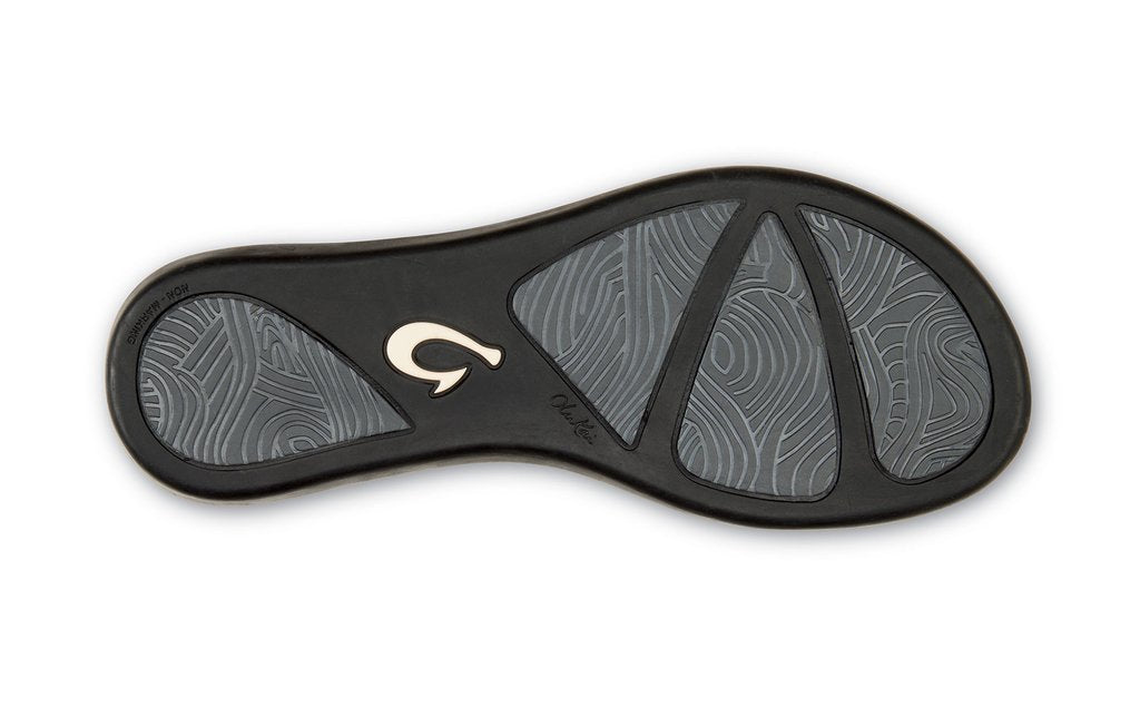 Olukai Hoʻōpio Women's Beach Sandals Onyx