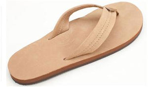 Rainbow Sandals (Womens) - Single Layer Premier Leather with Arch Support