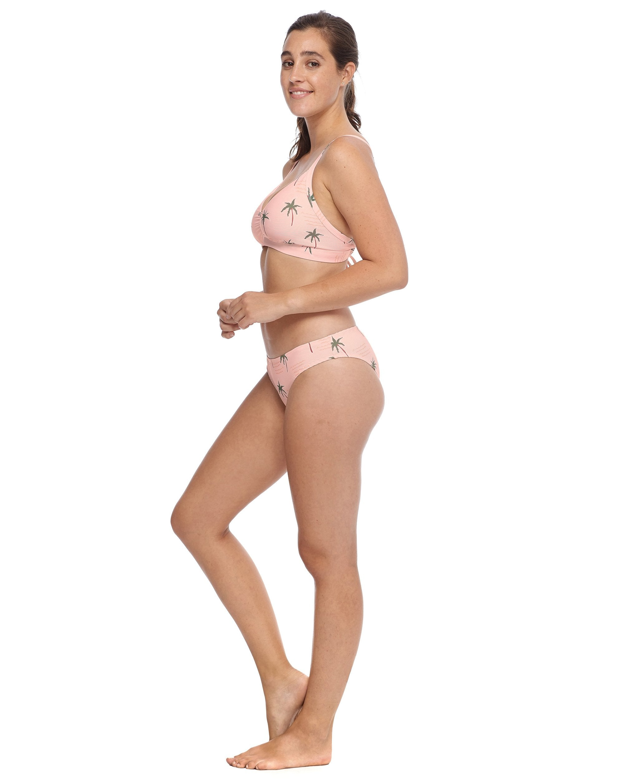 Body Glove Rio Drew D-F Cup Swim Top - Dusty Pink