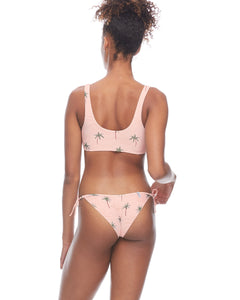 Body Glove Rio Kate Crop Tank Bikini Top - Dusty Pink