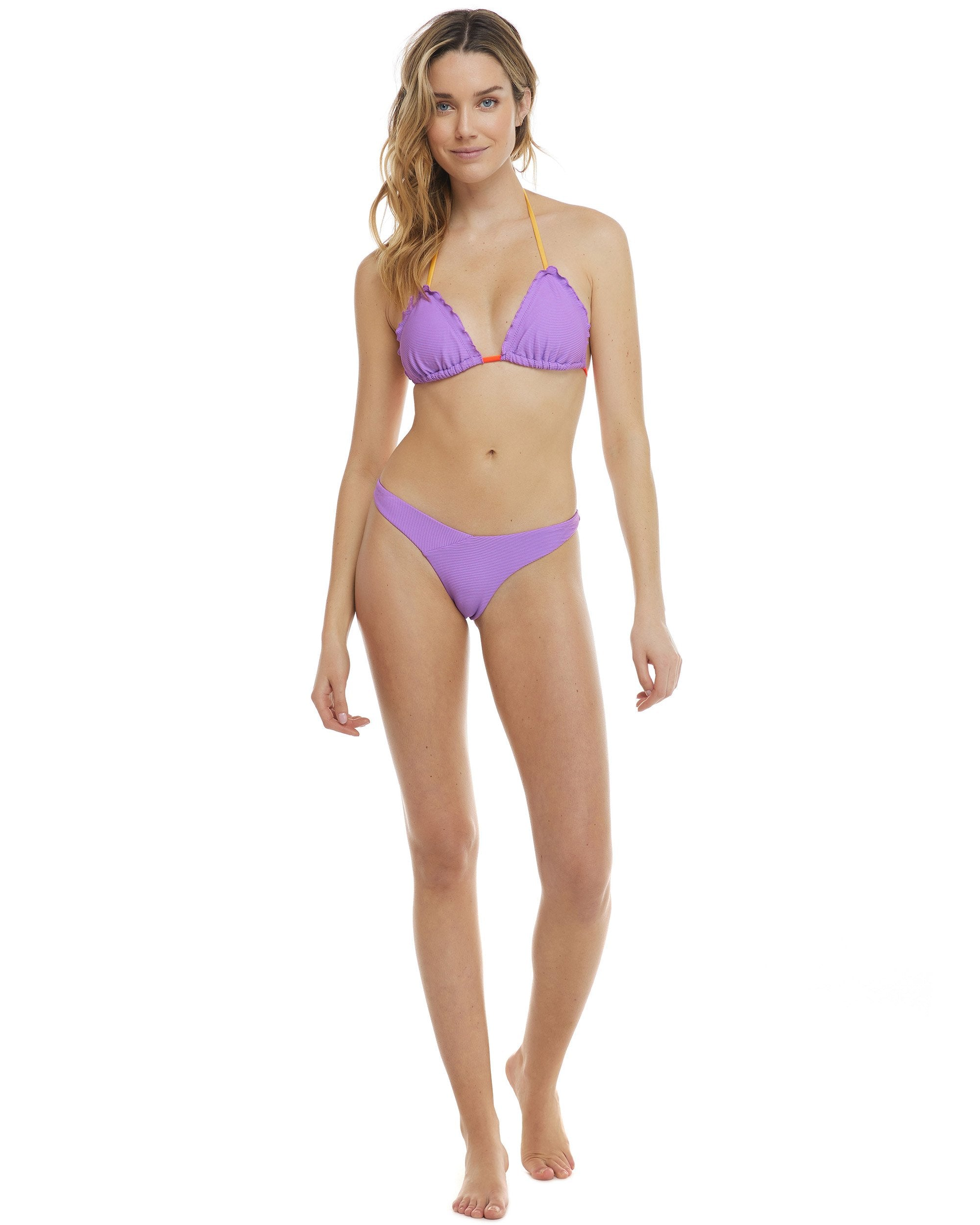 Body Glove Spectrum Dita Ruffle Triangle Bikini Top