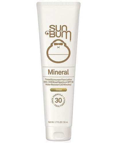 Sun Bum Mineral SPF 30 Tinted Sunscreen Face Lotion - 1.7oz