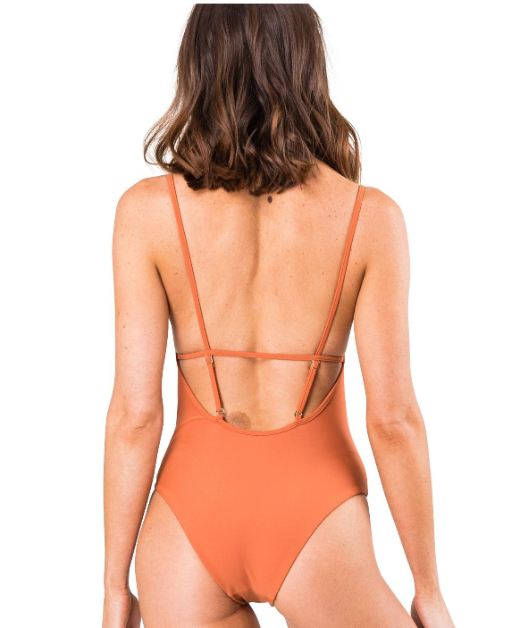 Rusty Stella Nineties One Piece - Terra