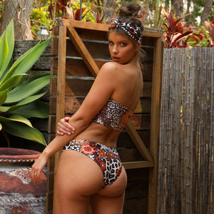 Kulani Kinis Salty Safari Full Coverage Bikini Bottom