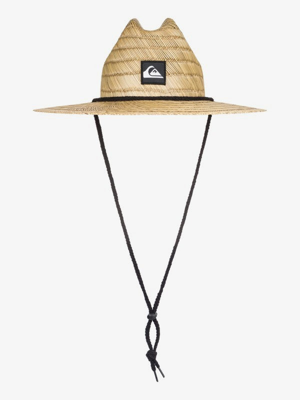 Quiksilver Kid's 2-7 Pierside Straw Lifeguard Hat