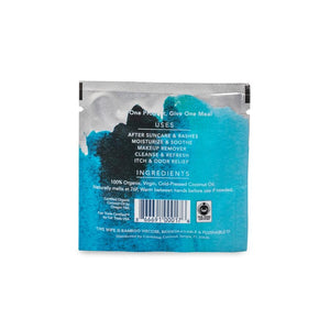 Conscious Coconut Organic Coconut Oil Wipes (25 Count)