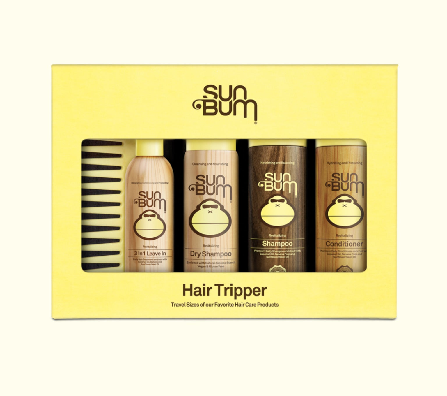 Sun Bum Hair Tripper Kit