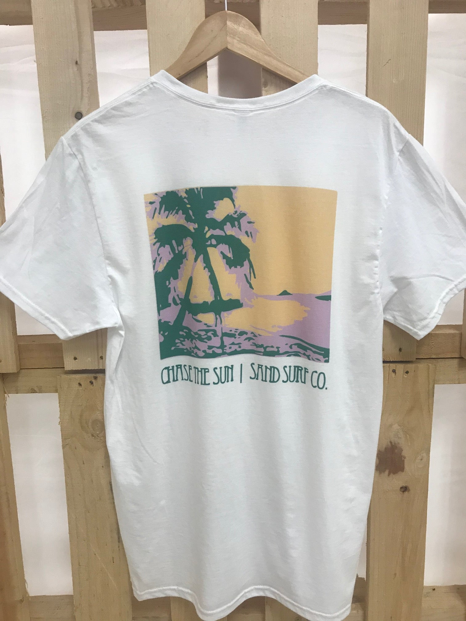 Sand Surf Co. Official Shop Tee